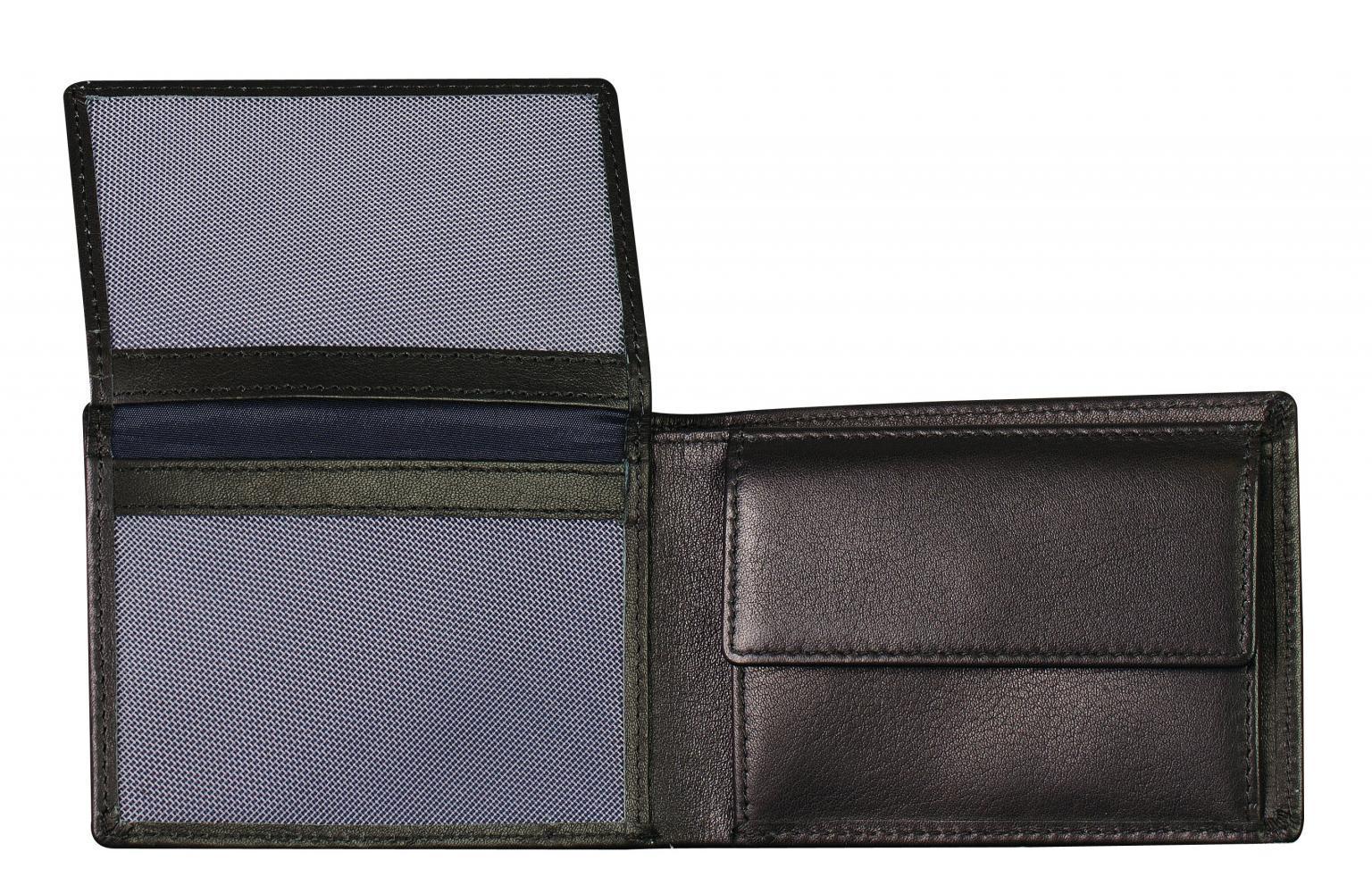 Geldtasche Herren Maitre F3 Gerold BillFold schwarz RFID Safe