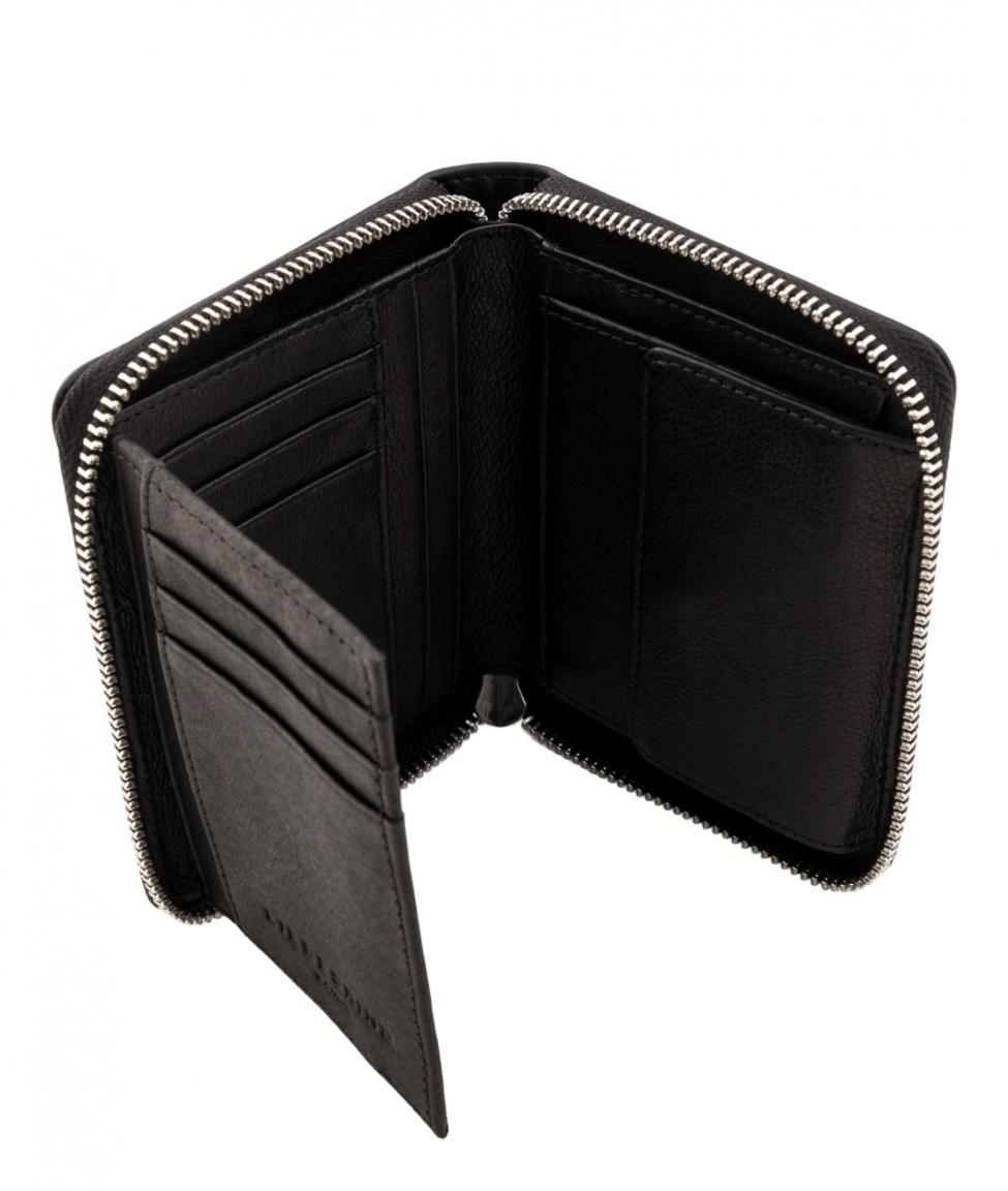 Geldtasche Liebeskind black Icon Conny Matmo Zipverschluss