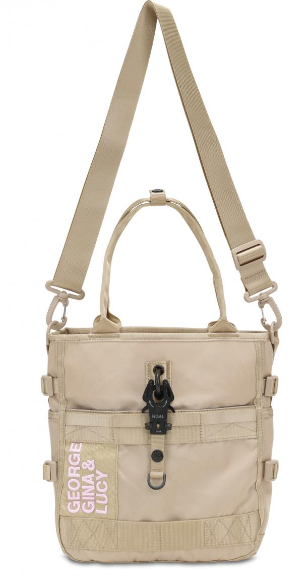 George Gina Lucy Tragetasche Low Beau Tomi beige rose GG&L