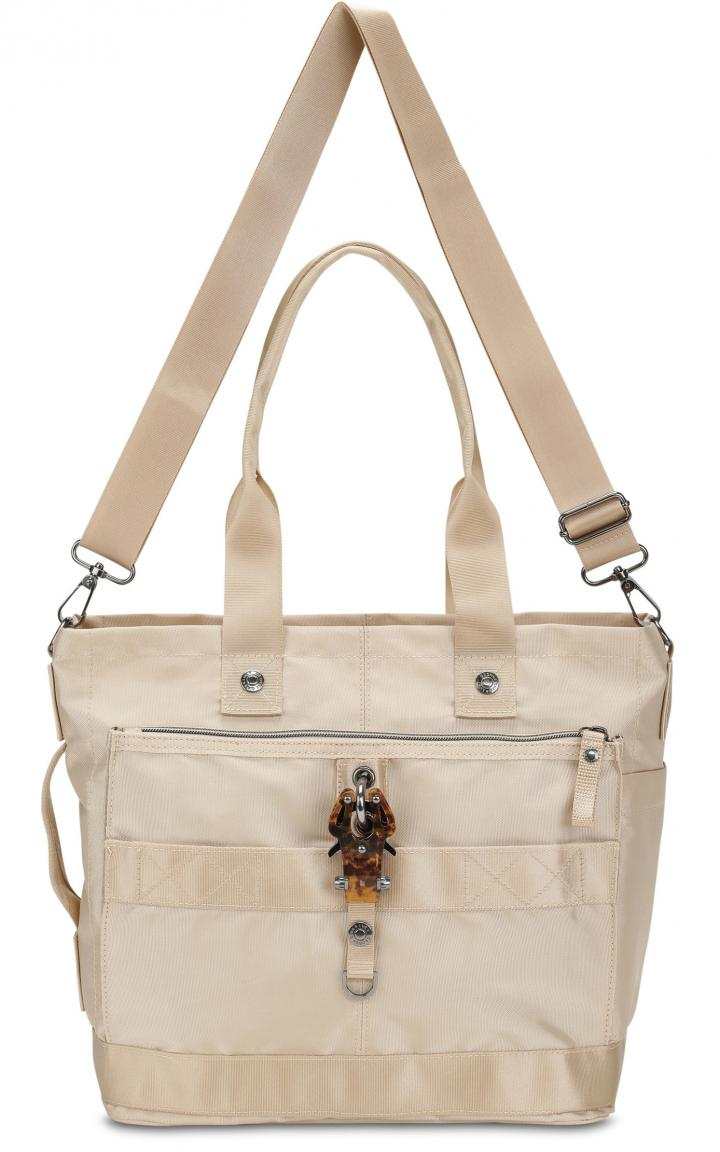 George Giny Lucy Shopper The Styler havanna beige Karabiner