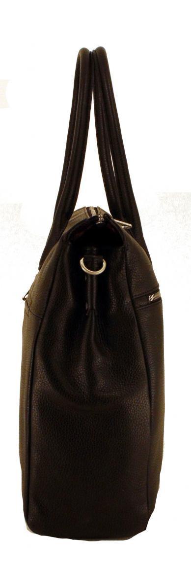 GiGi Fratelli Businesstasche für Frauen Leder Red Rot