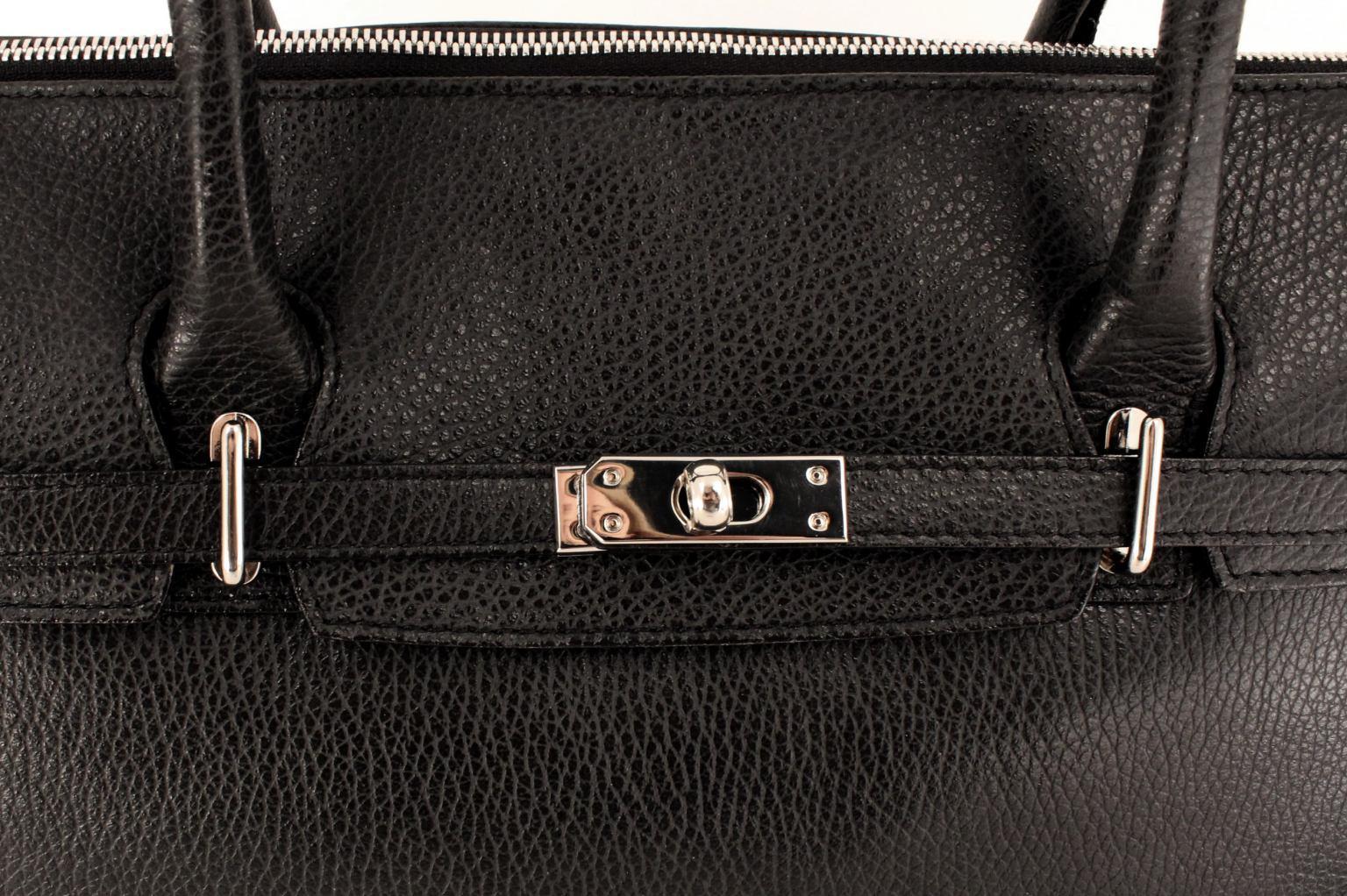 GiGi Fratelli Damentasche mit Laptopfach Black Schwarz