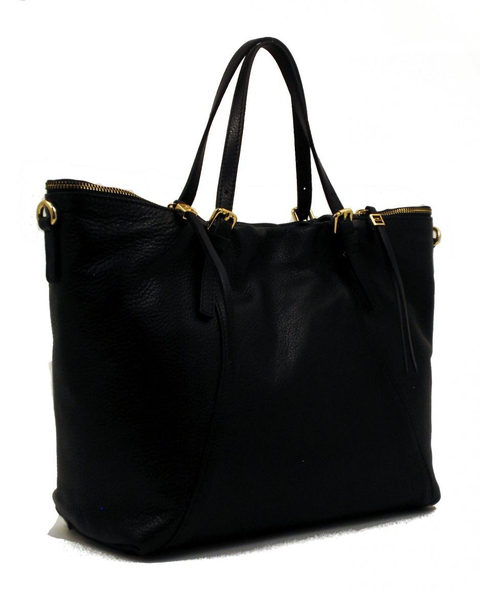 gianni chiarini shopper xl leder schwarz bags more. Black Bedroom Furniture Sets. Home Design Ideas