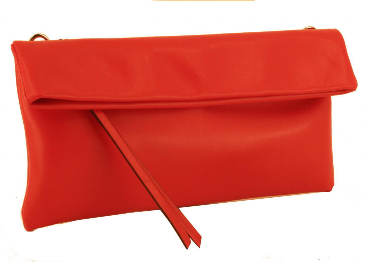 Gianni Chiarini Clutch Umhängetasche geklappt rosso rot