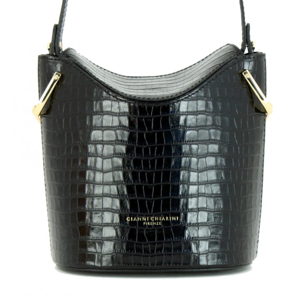 Gianni Chiarini Sophia Crossbody Bag Ceralacca Reptiloptik rot