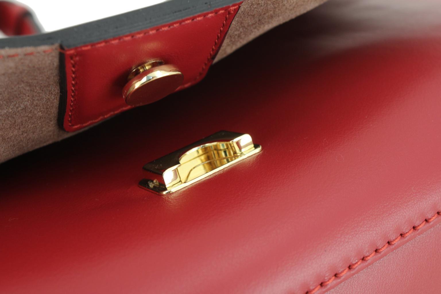 Gianni Chiarini Überschlagtasche Olimpia Nero schwarz gold