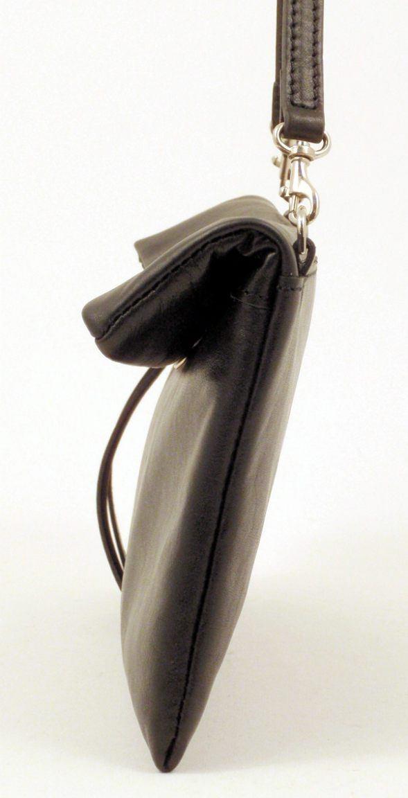 Gianni Chiarini Unterarmtasche Large Ledertasche Rame Bronze
