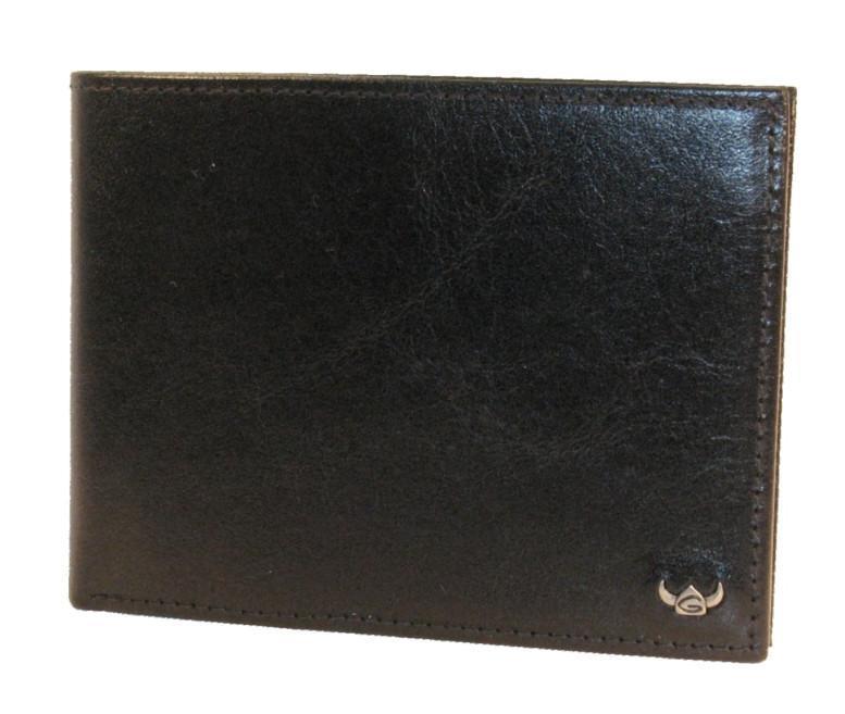 Golden Head Colorado RFID Scheintasche schwarz Ausleseschutz