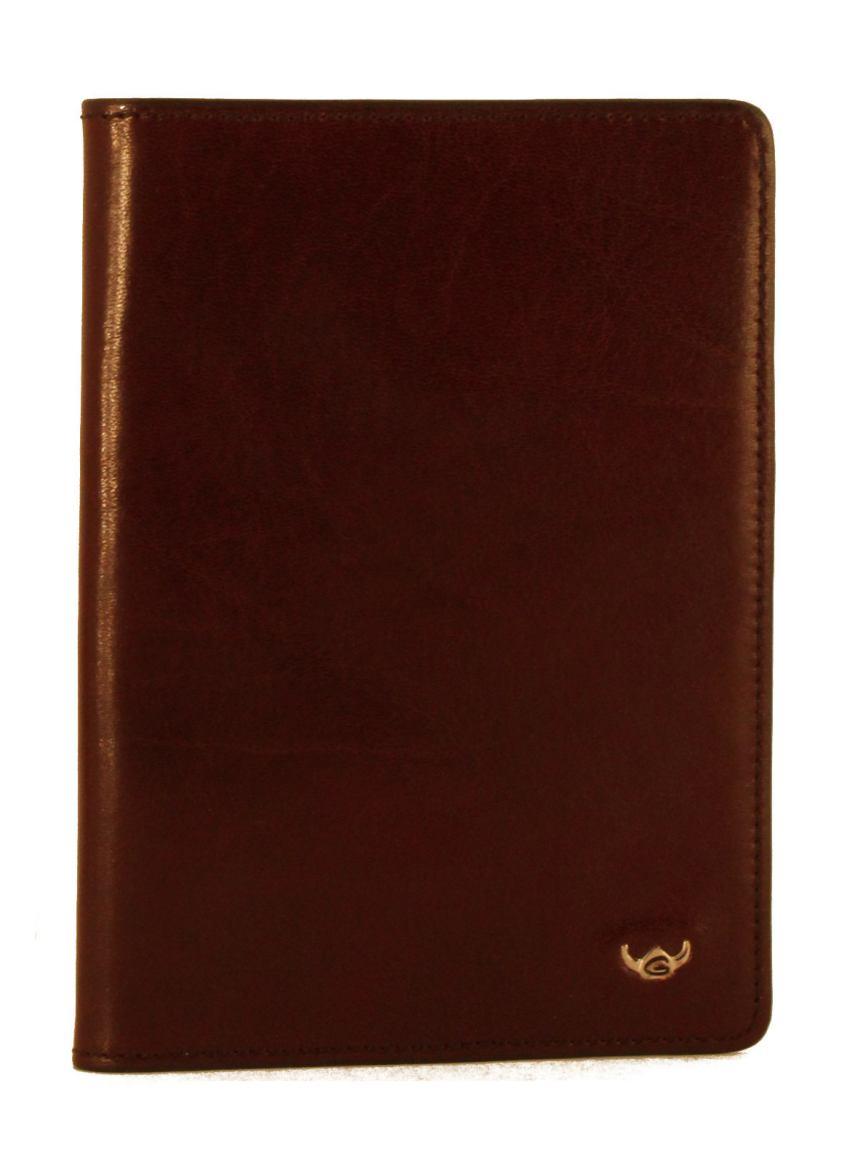 Golden Head Passhülle Leder Bordeaux Rot-Braun
