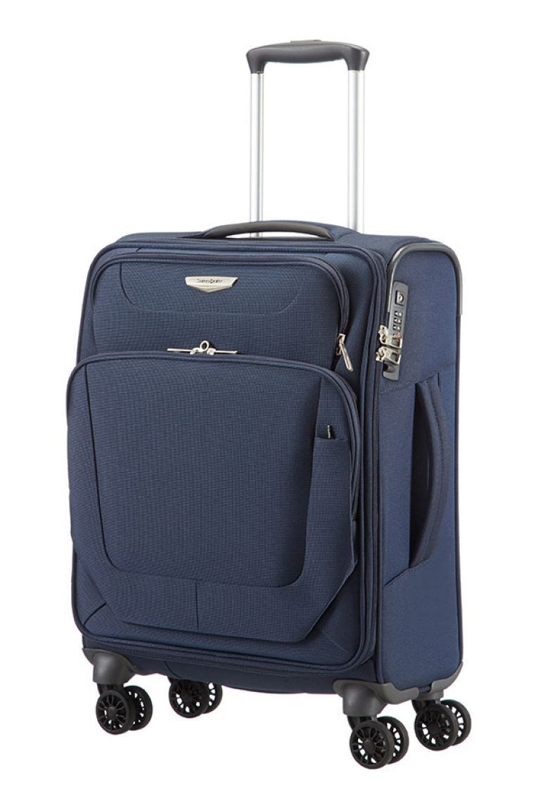 handgep ck koffer samsonite spark blau bags more. Black Bedroom Furniture Sets. Home Design Ideas