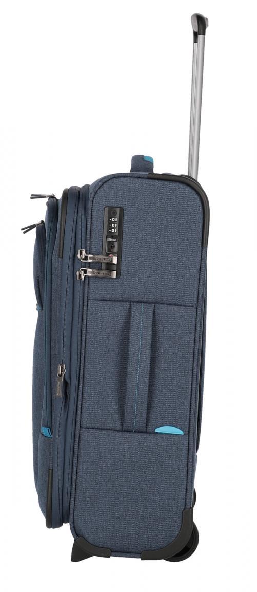 Handgepäck Trolley Madeira blau türkis erweiterbar 2-Rad