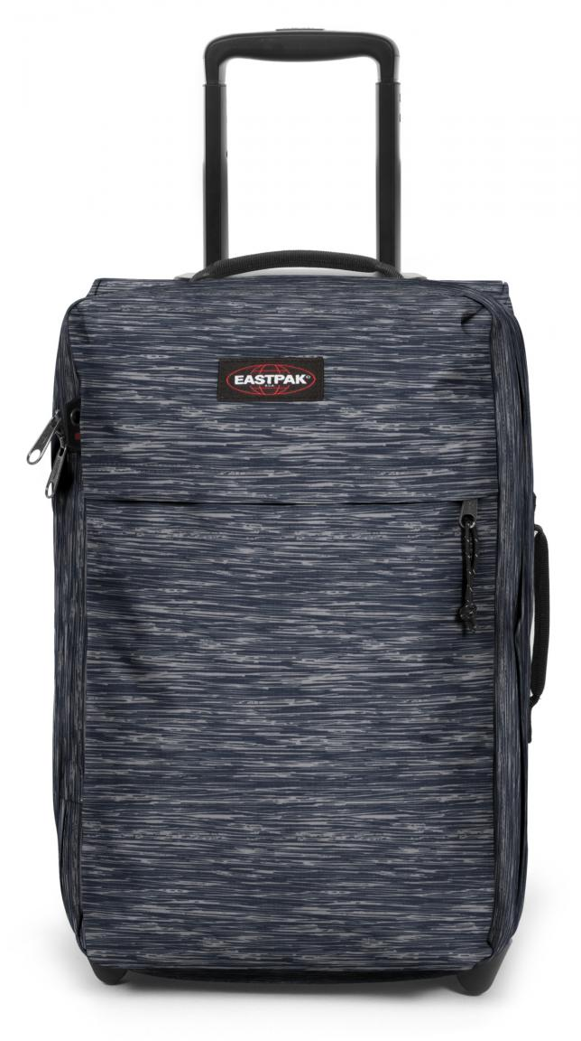 Handgepäckstrolley Eastpak TraFik Light S Knit Grey Streifen