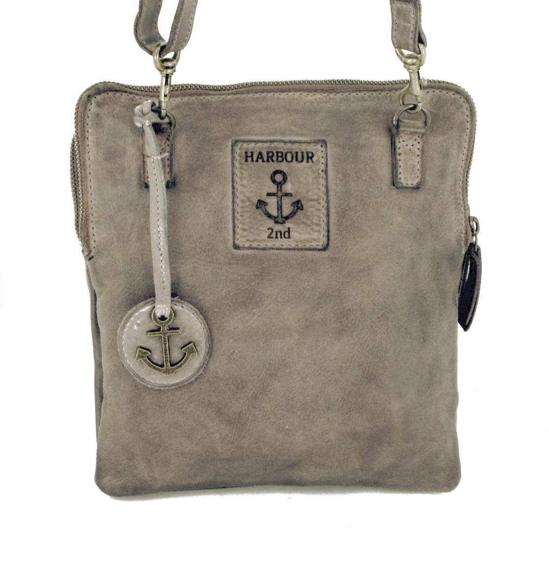 Harbour2nd Crossovertasche al-Ranja Leder Vintage Schwarz