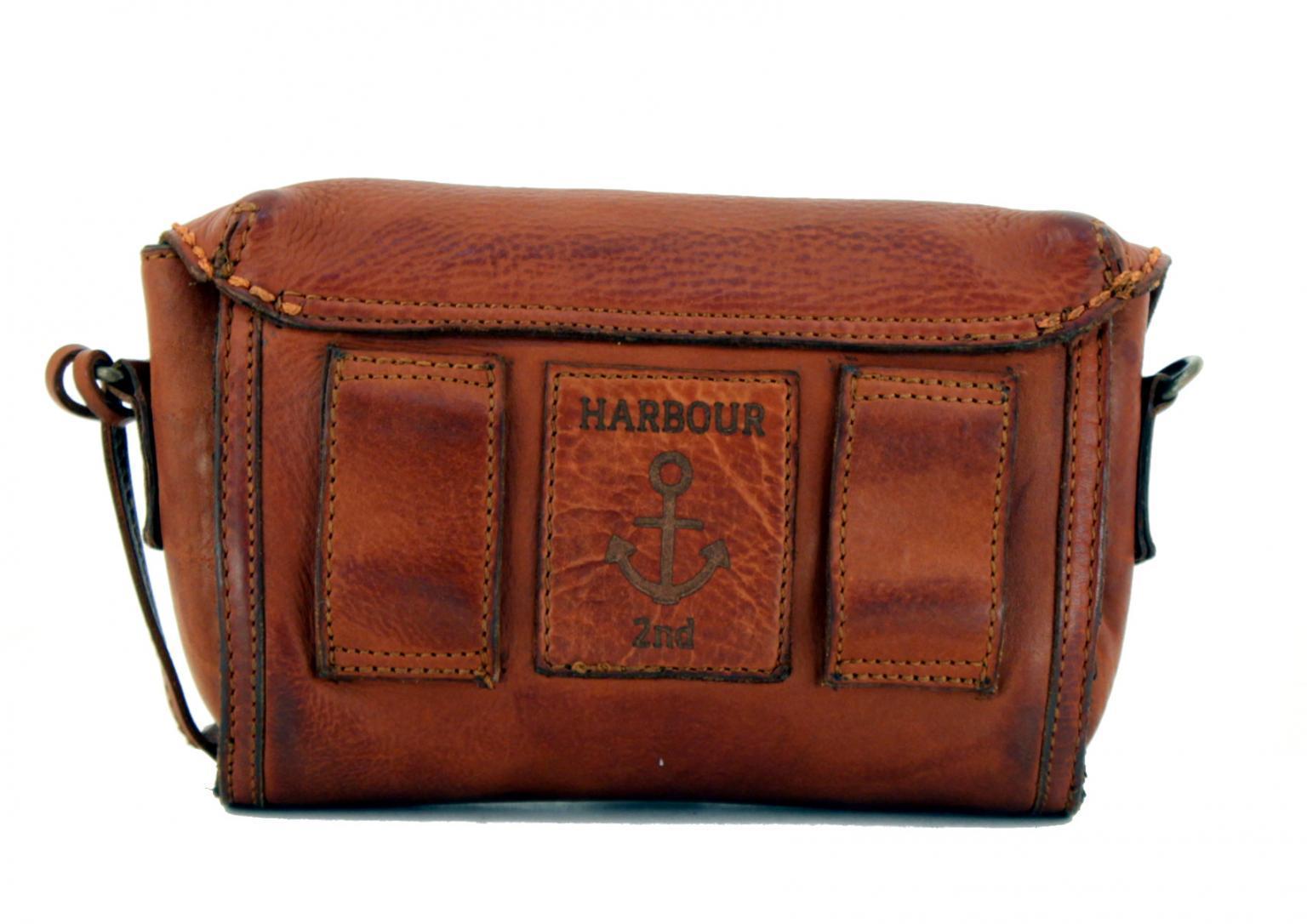 Harbour2nd Gürteltasche Erni vintage braun Cognac