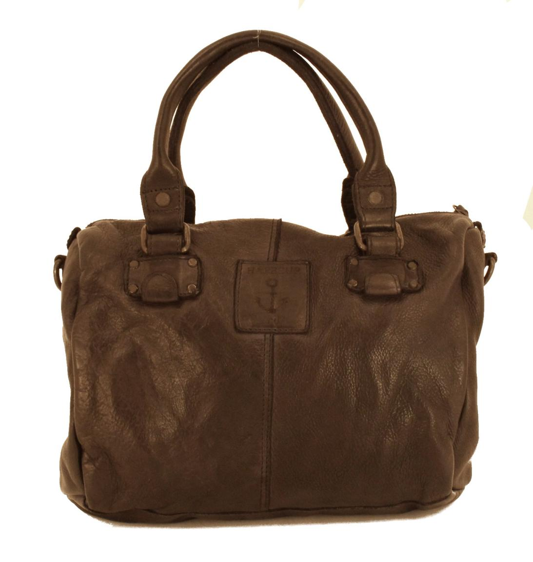Harbour2nd Ledertasche al-Lale Anker Vintage Stone Grey