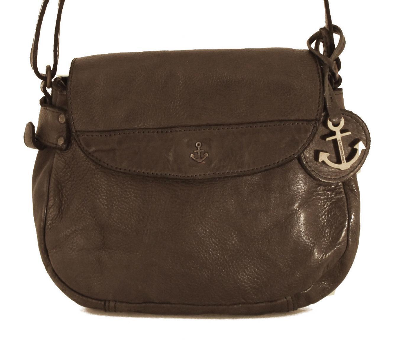 Harbour2nd Überschlagtasche Chloe Bronze metallic Leder