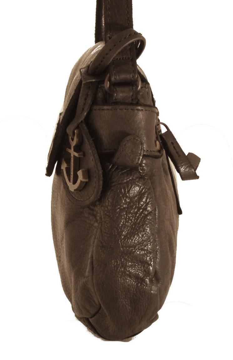 Harbour2nd Überschlagtasche al-Chloe Leder Vintage Cognac