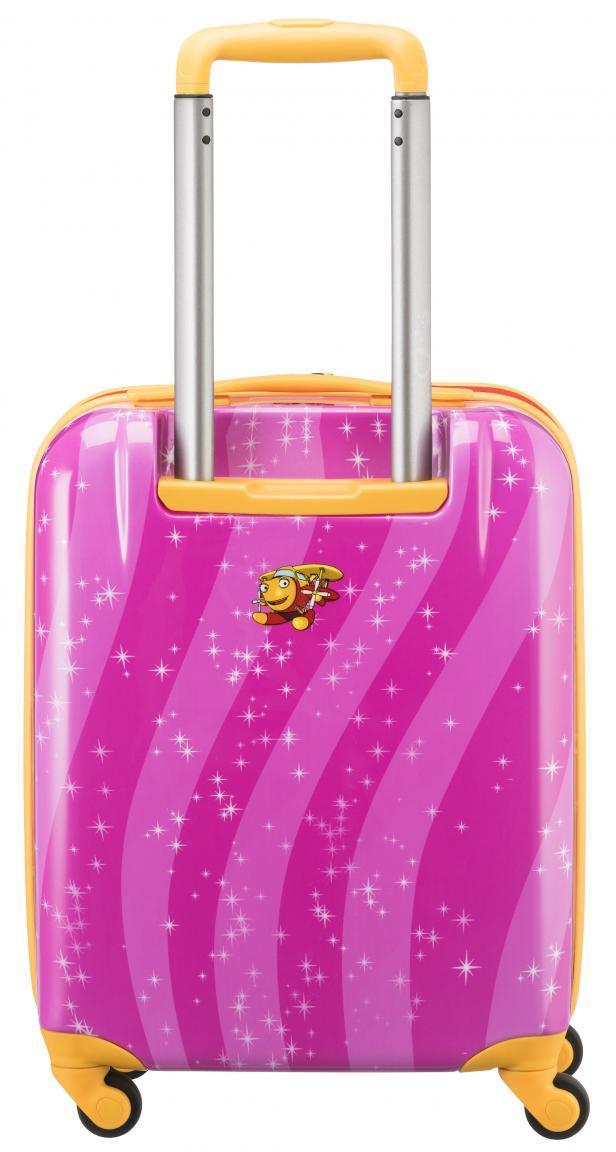 Hartschalenkoffer für Kinder Travelite Helden der Stadt Pink