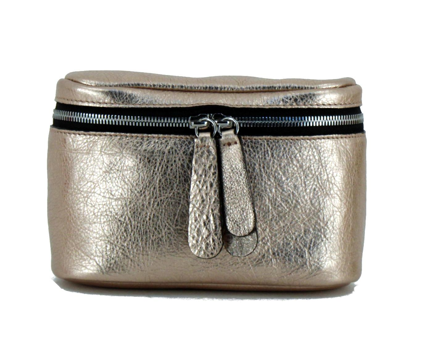 Hüfttasche Gianni Chiarini Galatea silber metallic Schultergurt