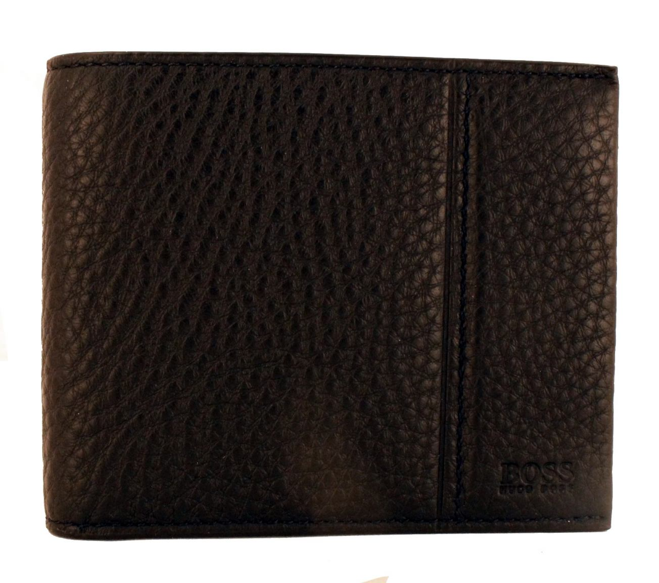 6b5b7145aa478 Hugo Boss Brieftasche Leder Traveller Schwarz - Bags   more