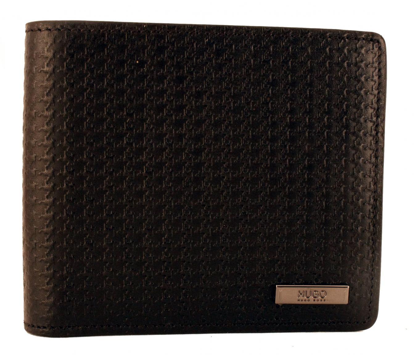 514780bdca260 Hugo Boss Brieftasche Leder ohne Hartgeldfach Schwarz - Bags   more