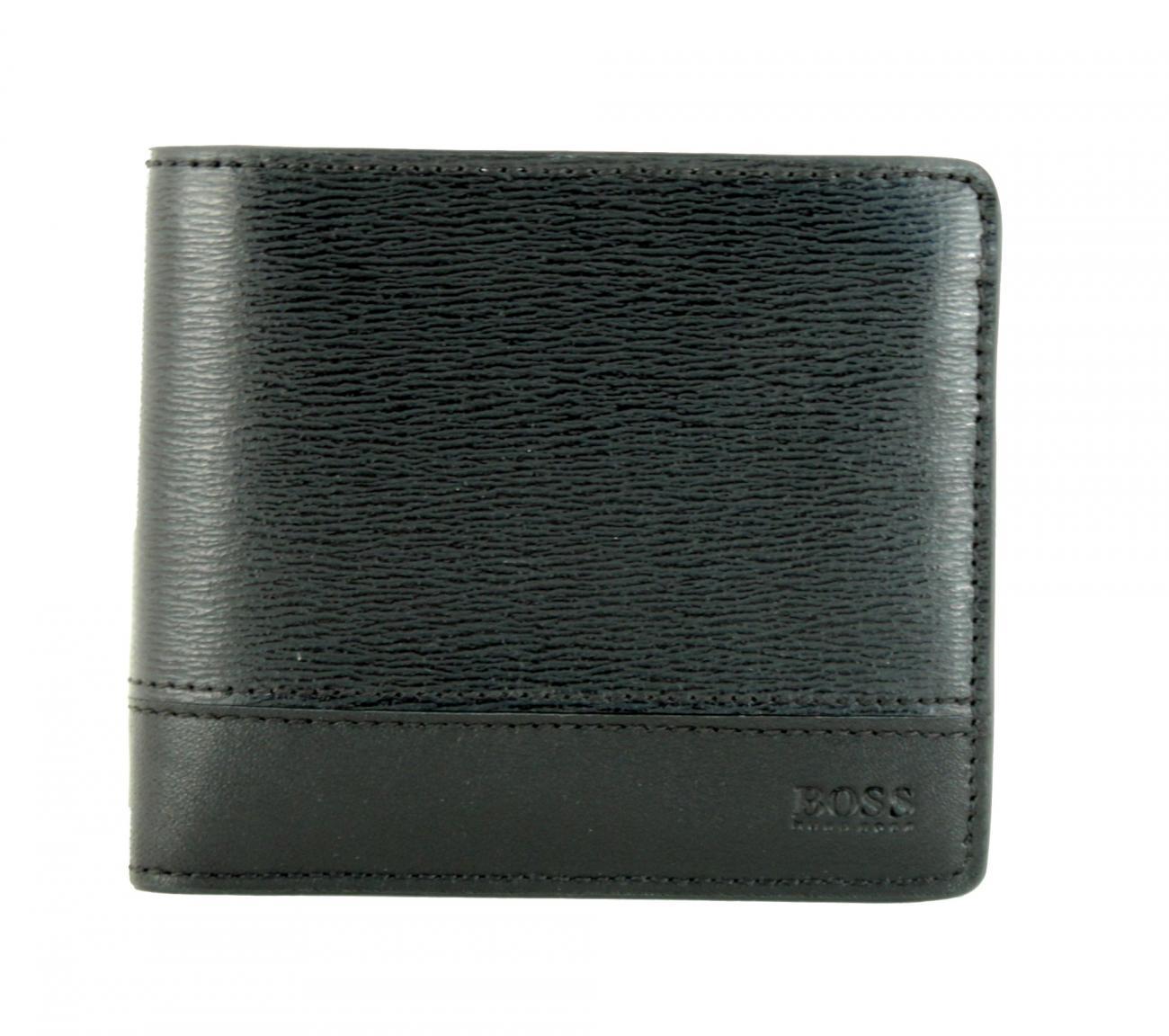 320c2b7480a60 Hugo Boss Focus Geldbeutel mit Münzfach Leder Schwarz - Bags   more