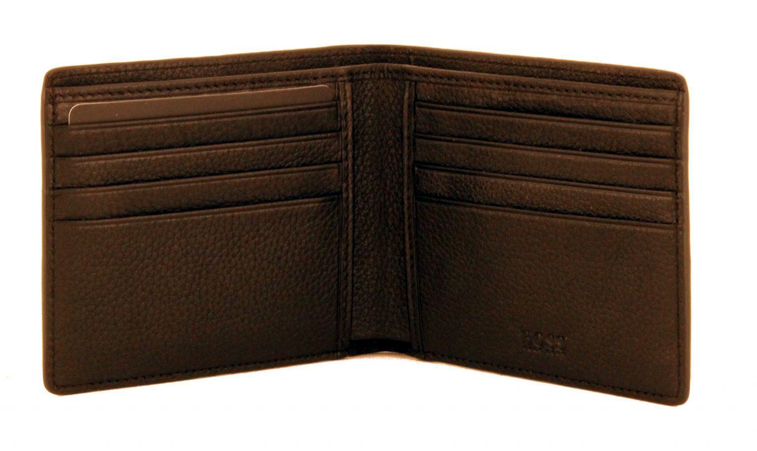 Hugo Boss Brieftasche ohne Hartgeldfach GbB17SR_8 cc Leder