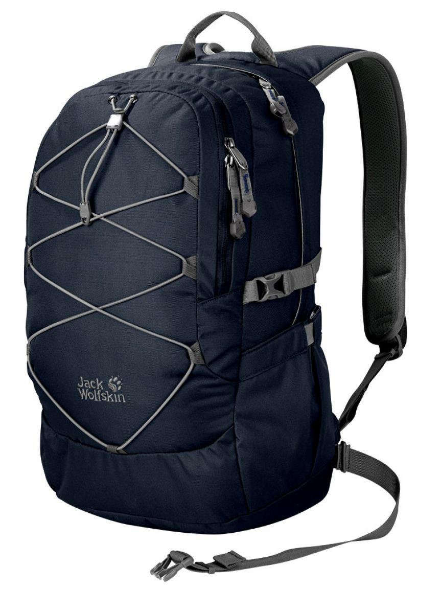 jack wolfskin schulrucksack daytona 30 night blue bags. Black Bedroom Furniture Sets. Home Design Ideas