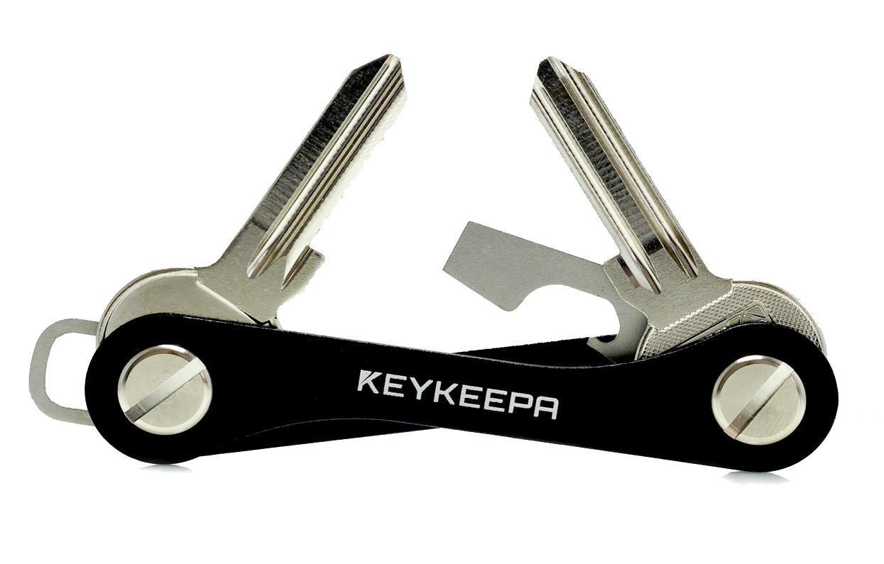 KEYKEEPA Key Manager Aluminium schwarz