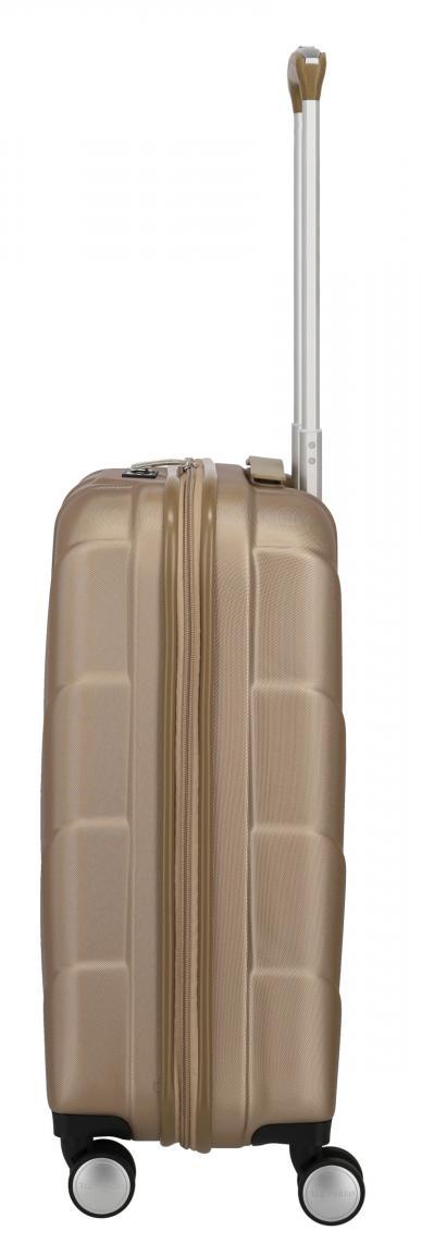 Kabinentrolley Travelite Kalisto 55cm Champagner beige metallic