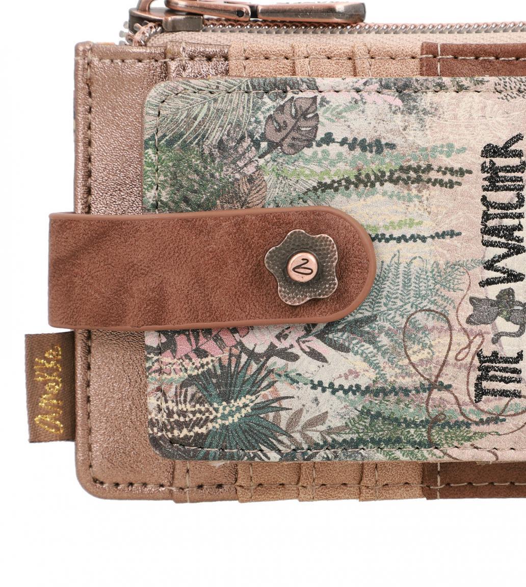 Kartenetui Anekke Jungle The Watcher aufklappbar bunt