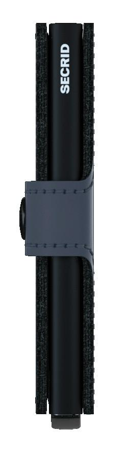 Kartenetui Miniwallet nachtblau matt Secrid Ausleseschutz