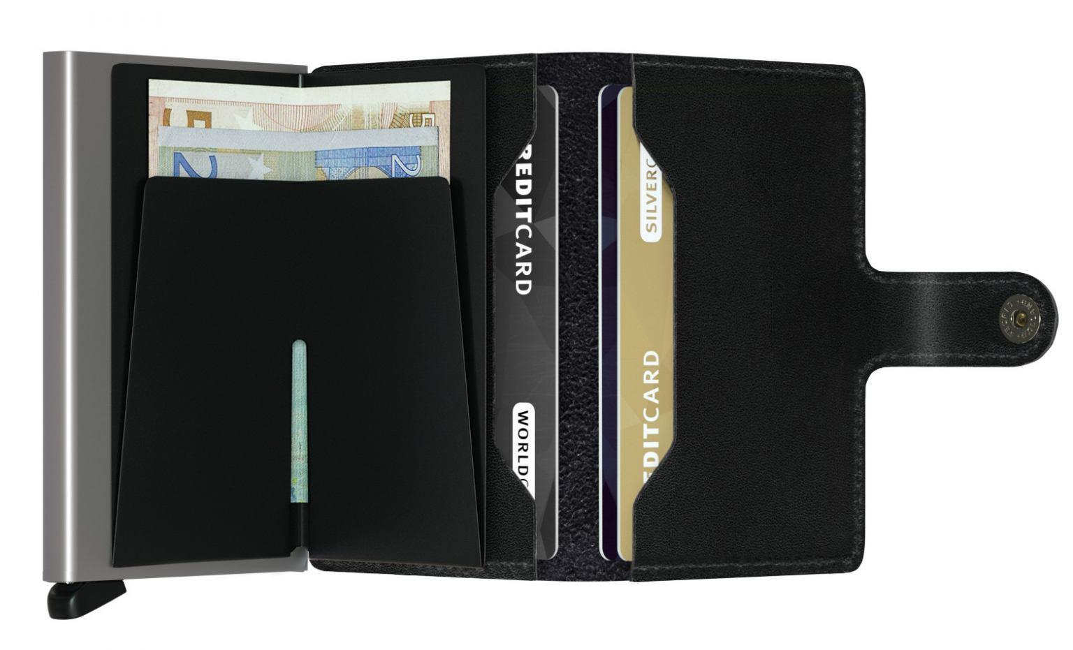 Kartenetui Secrid Miniwallet schwarz