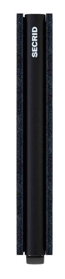 Kartenetui Secrid Slimwallet RFID-Schutz Matte Black schwarz