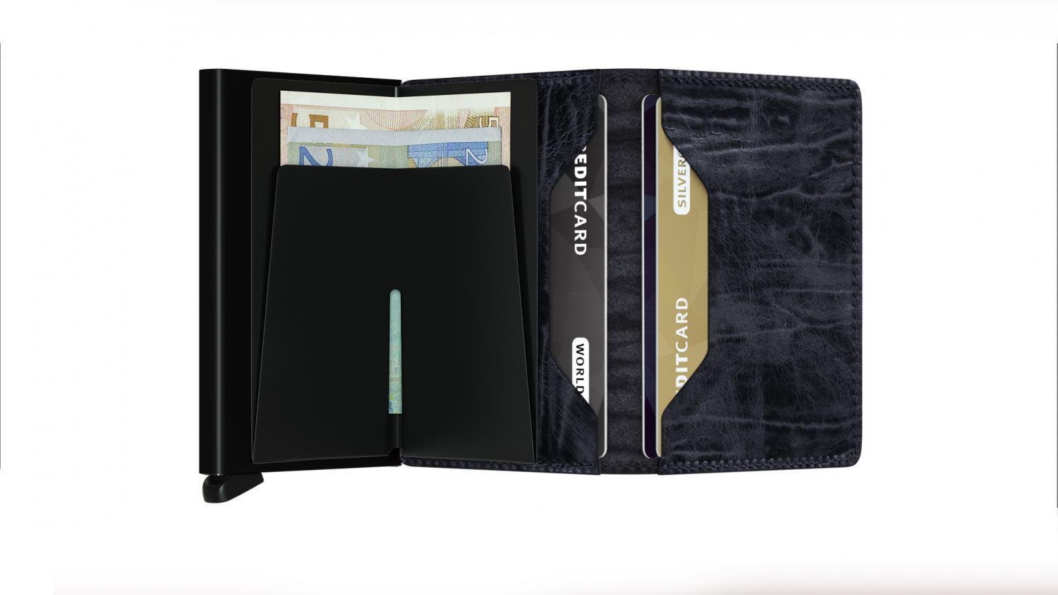 Kartenhülle RFID Protect Secrid Slimwallet Dutch Martin Nightblu