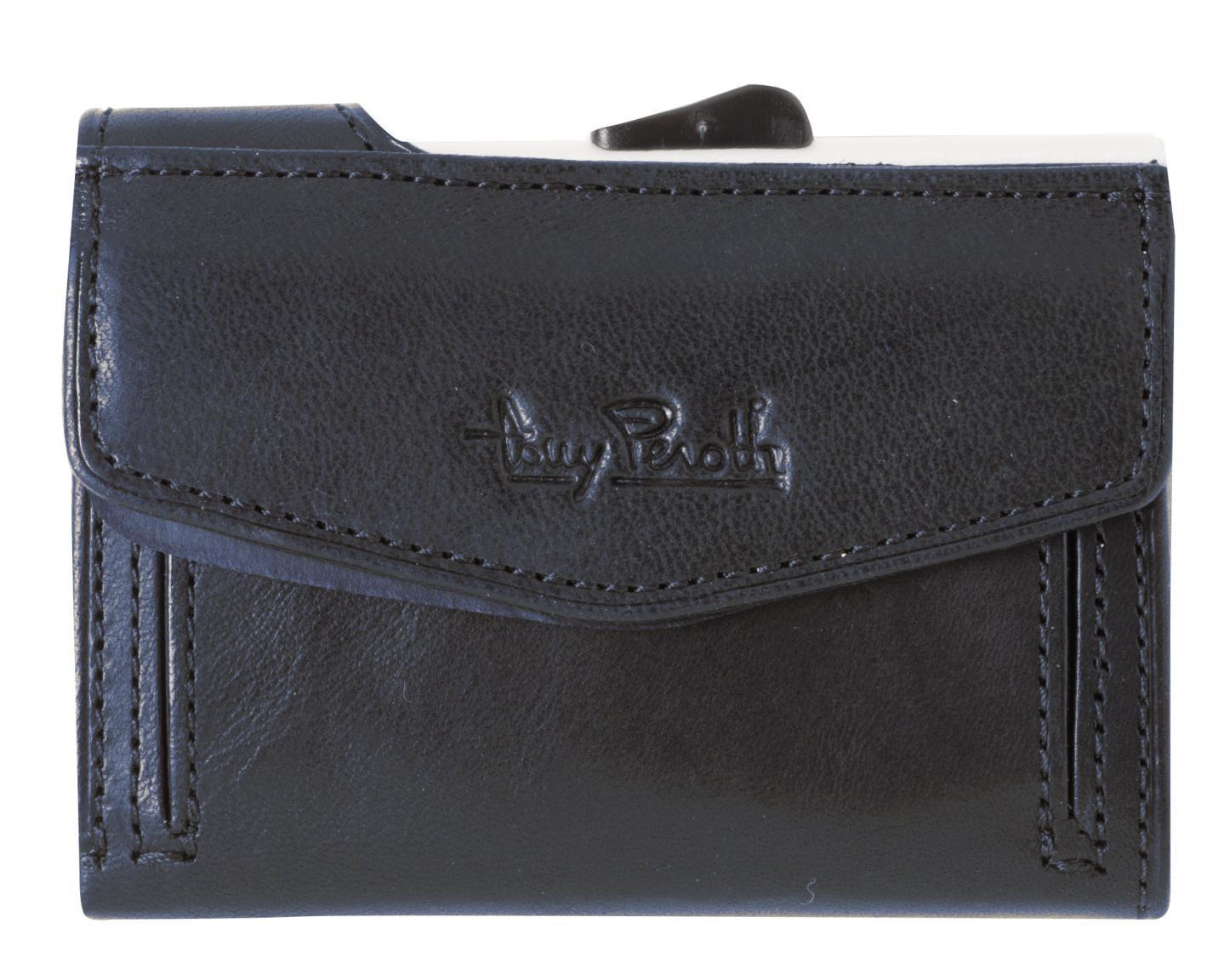 Kartenhülle RFID-Schutz Furbo Navy Blue dunkelblau Tony Perotti