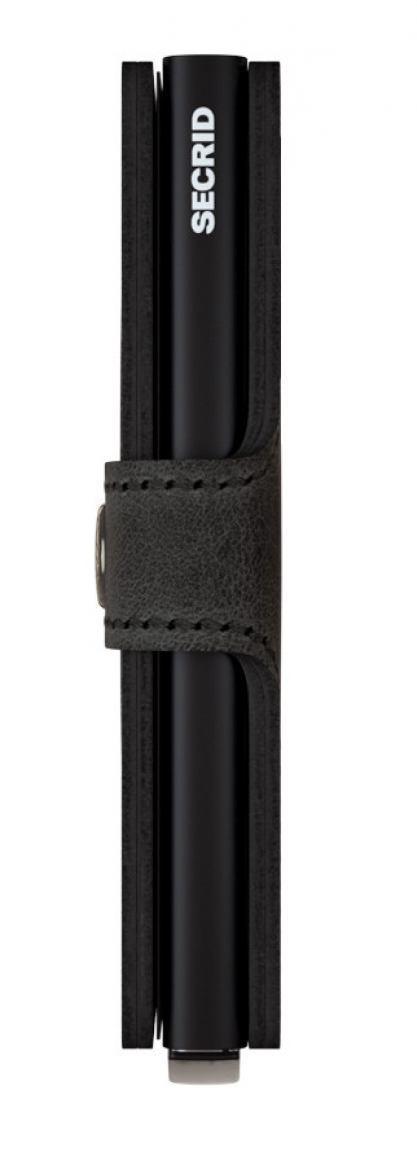 Kartenhülle Secrid Miniwallet vintage black