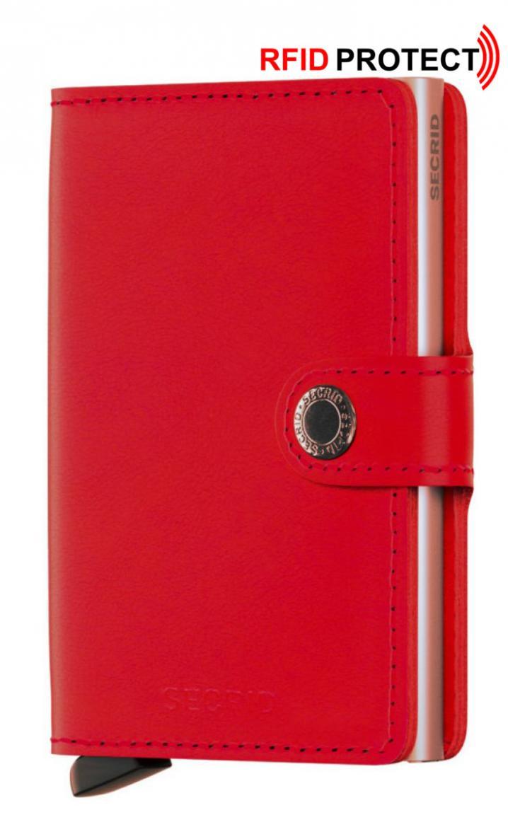 Kartentäschchen Secrid Miniwallet Original red lipstick