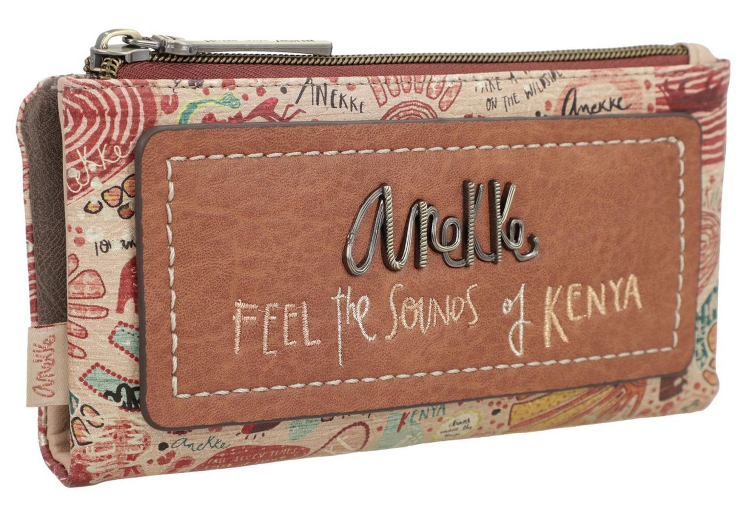 Klappbörse mit Kartenetui Anekke Kenya Towanda