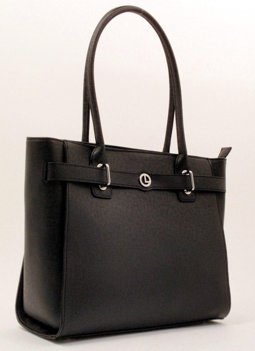 l credi ledershopper lou schwarz bags more. Black Bedroom Furniture Sets. Home Design Ideas