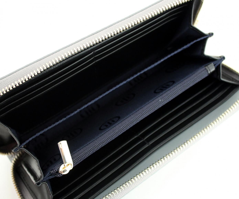 Langbörse Tommy Hilfiger Core Pewter silber metallic Zipper