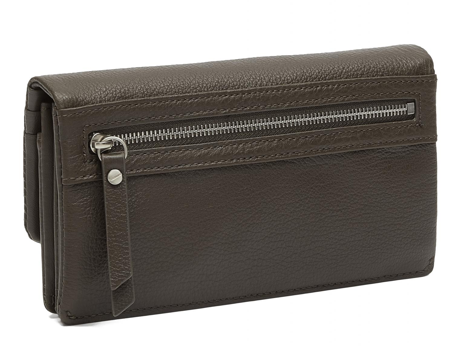 Ledergeldtasche Liebeskind Slam Wallet Large Nori green RFID