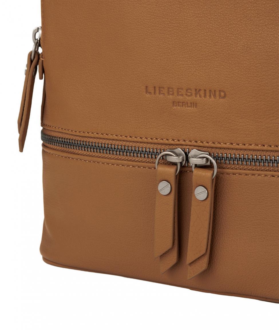 Lederrucksack AlitaC20 Caramel Liebeskind hellbraun