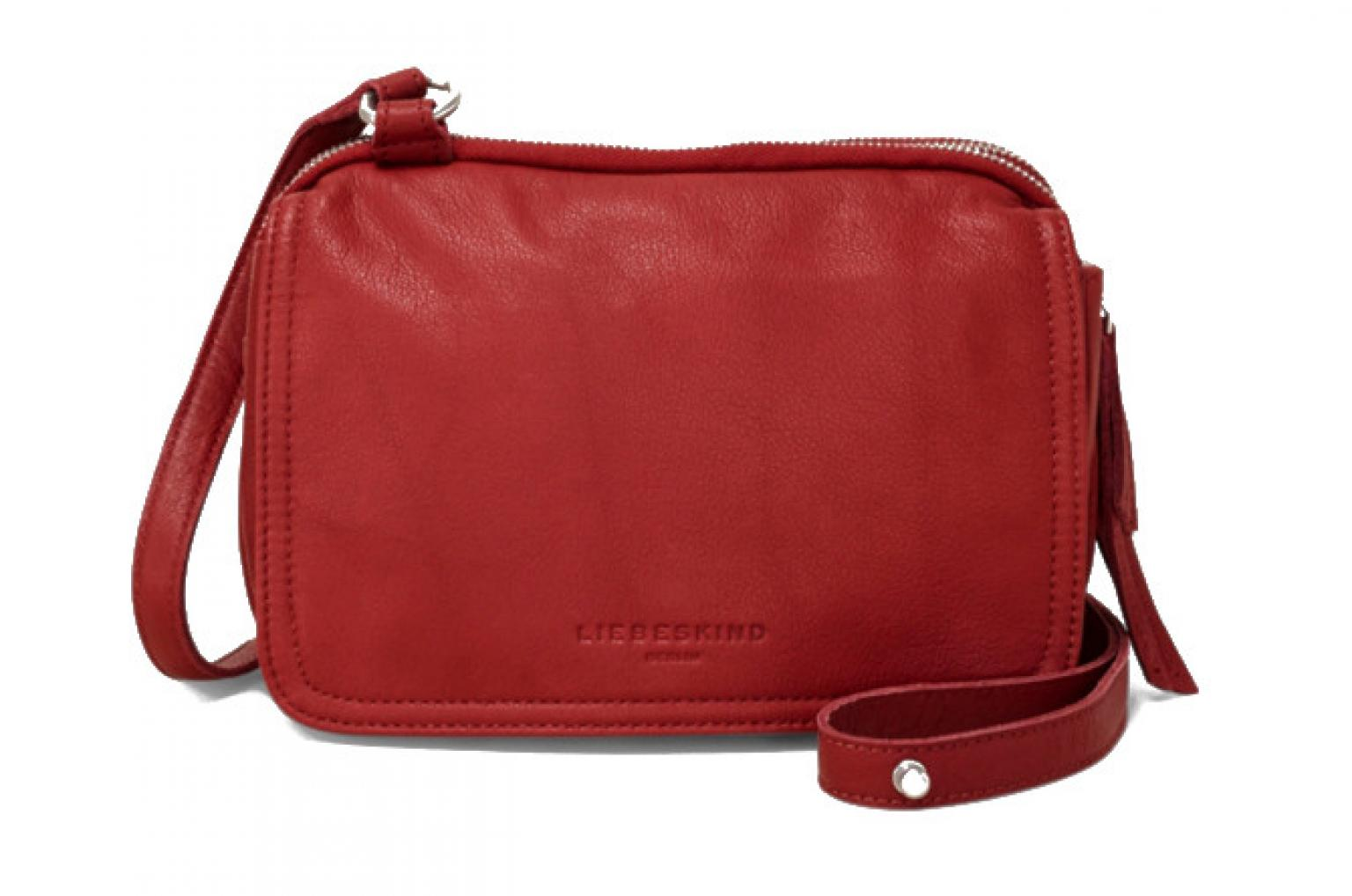 59c10aaa965d2 Liebeskind Crossovertasche Leder Maike7 phonebox red rot - Bags   more