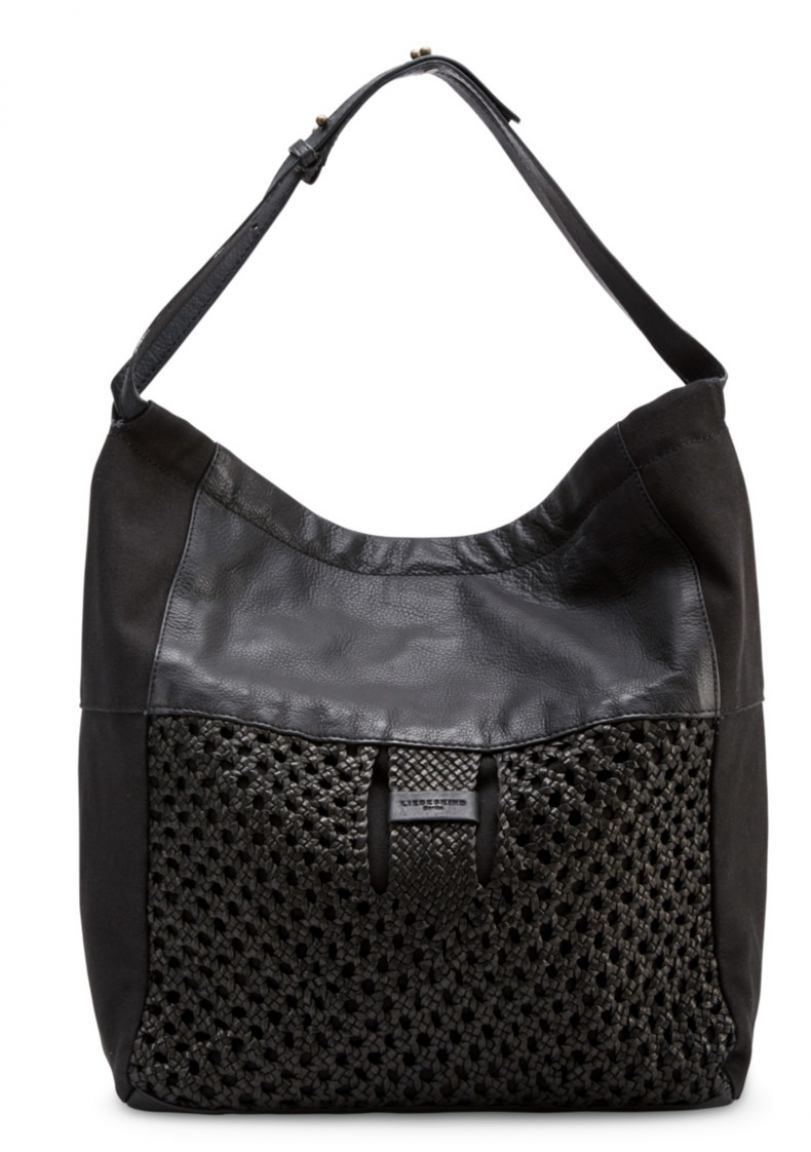 liebeskind flechttasche majory schwarz bags more. Black Bedroom Furniture Sets. Home Design Ideas