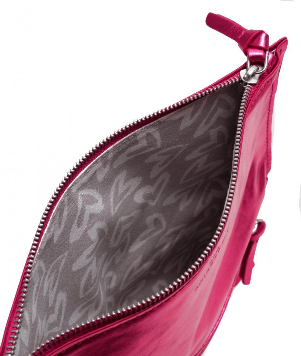 Liebeskind Abendtasche Scarlet8V hot magenta metallic foil