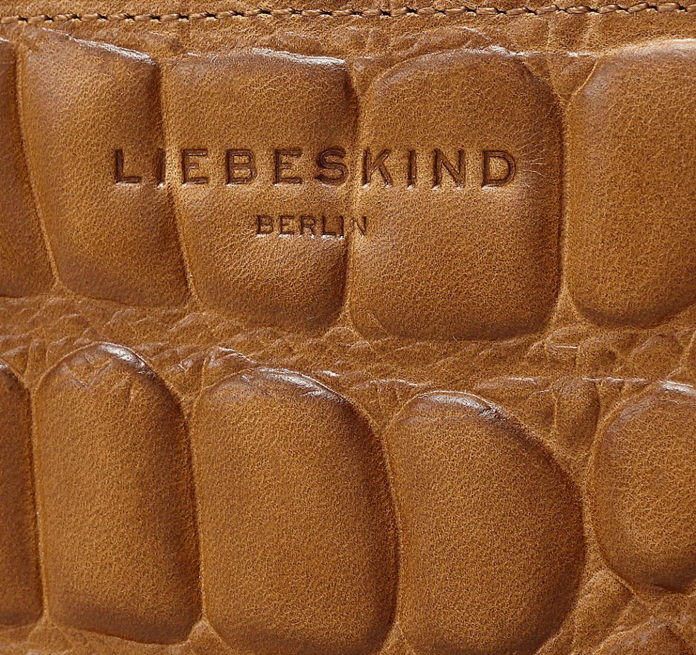 Liebeskind Berlin Geldbörse SabiaW7 Big Croco Sioux Braun