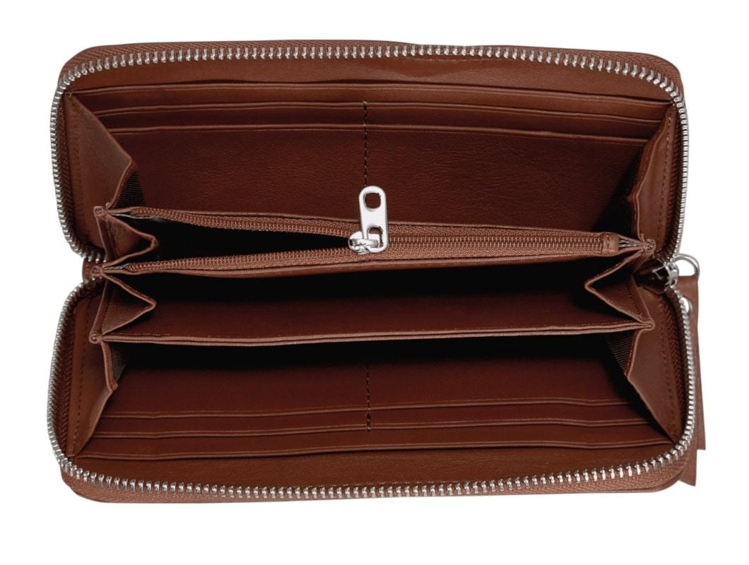 Liebeskind Essential Sally Bourbon Langbörse Leder braun