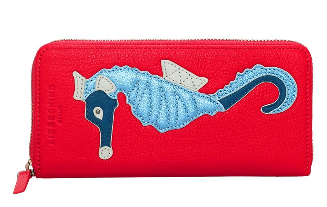 Liebeskind Geldbörse GigiF8 Vintage bright rose Seepferdchen