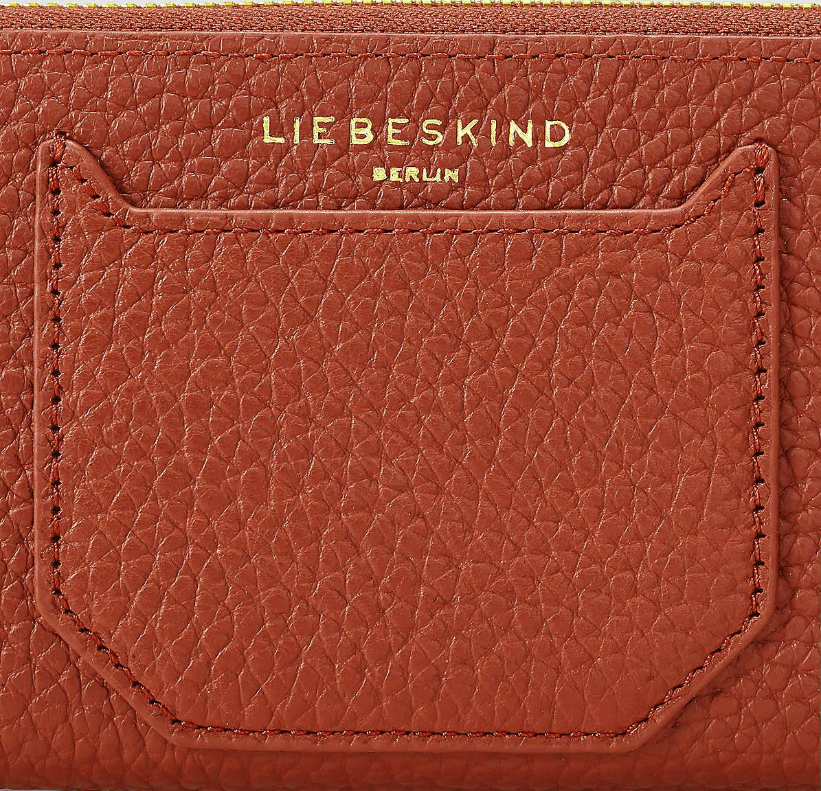 Liebeskind Geldtasche GigiH7 Heavy Pebble Gang Wine